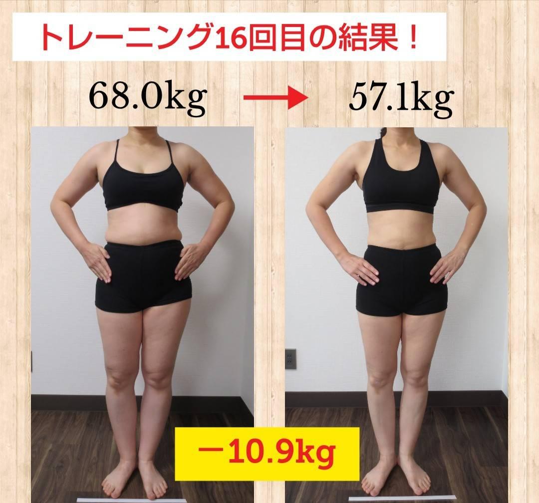 トレーニング16回目の結果!